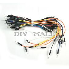 65pcs Breadboard Jump Wire Jumper Cable Male to Male  for Arduino Breadboard