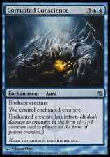 *MRM* FR 2x Conscience corrompue (Corrupted Conscience) MTG Besieged