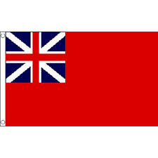 Red Ensign Colonial Small Flag 3Ft X 2Ft British Navy Naval Banner New