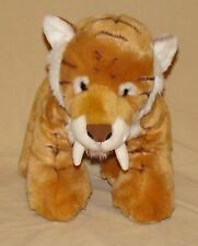 Build A Bear Sabertooth Tiger Stuffed Toy Animal 17""