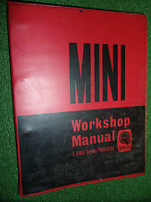 OEM Mini Workshop Manual Countryman Traveller Clubman Cooper S +SPECIAL ++ 59-66