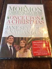 Mormon Tabernacle Choir Orchestra at Temple Square: Once Upon a Christmas (DVD,