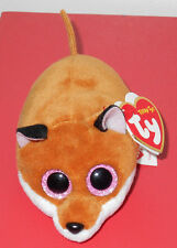 "Ty Beanie Teeny Tys ~ FINLEY the 3"" Fox (Stackable Plush)~ 2016 NEW ~IN HAND"