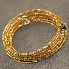 Stella And Dot Bardot Gold Bracelet  Bangle Charm Jewelry