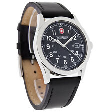 BRAND NEW MENS INFANTRY VICTORINOX SWISS ARMY BLACK  WATCH 24653