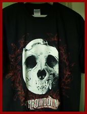 THROWDOWN - GRAPHIC T-SHIRT (L)  NEW & UNWORN