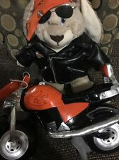 Build a Bear  Rabbit PLUSH Animal Harley Davidson Motor Cycles Deluxe Harley !!!