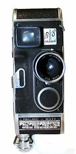 PAILLARD-BOLEX B8 8MM MOVIE CAMERA SWISS SPRING DRIVE
