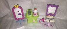 My Little Pony Celebration Salon Playset 3 Pc Lot Register Floor Mirror Vanity