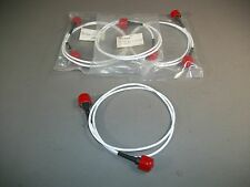 "Lot of 4 Malik CA-NPS042NPS-H155 Cable Assembly N-Type Male to Male 42"" - NEW"