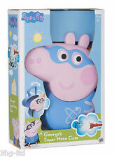 Peppa Pig George Super Hero Case With Torch Mask Dinosaur Role Play Activity Toy