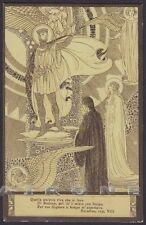 EZIO ANICHINI PARADISO DIVINA COMMEDIA Divine Comedy DANTE Cartolina 39b