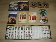 Età degli imperi 3 COMPLETE COLLECTION PC AOE III + quella asiatica DYNASTIES WAR Chiefs