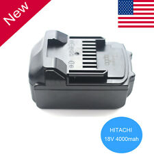 18Volt 4Ah Li-ion Battery for HITACHI BSL1815X BSL1830 BSL1840 330139 Power Tool