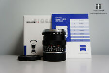 BRAND NEW Carl Zeiss Biogon T* ZM 25mm F/2.8 Lens (Black) Leica M / EVIL