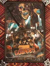 Vance Kelly The Goonies Art Print Movie Poster Mondo Sean Astin Corey Feldman