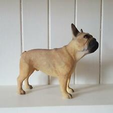 FAWN TAN FRENCH BULLDOG DOG ORNAMENT FIGURINE GIFT BOXED