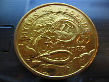 dragon myth and legends 1983 Mardi Gras Doubloon Coin new orleans