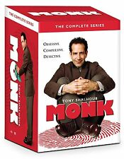 Monk: Complete Tony Shalhoub TV Series Seasons 1 2 3 4 5 6 7 8 Boxed DVD Set NEW