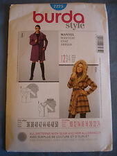 Burda Style 7275 sewing pattern Coat sizes european 36 - 50