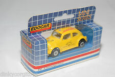 EDOCAR EM-8 EM8 VW VOLKSWAGEN BEETLE KAFER SHAKE YELLOW MINT BOXED RARE