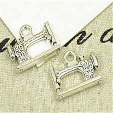 8pc Tibetan Silver sewing machine Charm Bead Pendant Jewellery Making  PL992