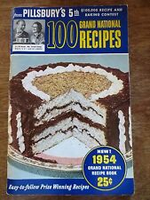 1954 Pillsbury 5th Grand National Recipe Contest Winners Cookbook Book