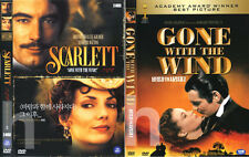 SCARLETT (1994) 2-Disc + GONE WITH THE WIND (1939) 2-DVD SET DVD NEW