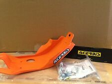 KTM EXC-F 250  350  2017  ACERBIS MX PLASTIC SKID GLIDE PLATE SUMP GUARD ORANGE