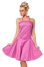 Petticoat vestido con polka dots Design/Pink talla L