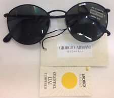 Vintage Giorgio Armani 627 706 Large 140 Sunglasses Italy new no case