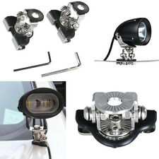 2Pcs Car Mount LED Work Light Bar Bracket Holder For Offroad 304 Stainless Steel