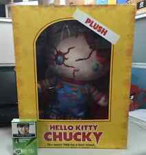 "USJ Halloween Hello Kitty X CHUCKY Special Edition Plush Doll 12"" W/T Box"