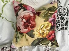 DESIGNERS GUILD FABRIC OCTAVIA LINEN BLOSTER/CUSHION COVER 19x19""