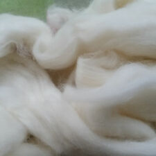 CRAZY Cashmere Roving Combed Top 100% 14-15 micron white soft luxury fiber spin