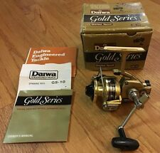 Daiwa GS-10 Gold Series Ultralight Spinning Reel + Box & Papers - Made in Japan