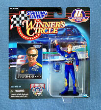 "RUSTY WALLACE NASCAR WINNER'S CIRCLE STARTING LINEUP 5"" FIGURE KENNER SERIES 2"