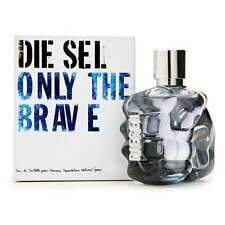 ONLY THE BRAVE diesel per gli uomini EauDeToilette EDT 50ml 1.7oz NUOVO & Sealed Regno Unito