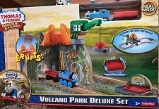 Fisher Price CDK48 Thomas & Friends™ Wooden Railway Volcano Park Deluxe Set