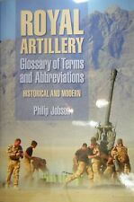 Royal Artillery Glossary of Terms Abbreviations Jobson British Armed Forces Army