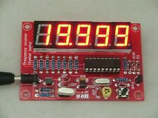 1Hz-50MHz Crystal Oscillator Frequency Counter Meter Digital LED PIC DIY Kits
