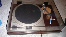 Technics Direct Drive Turntable SP-15 with toner arm, base and cover
