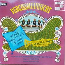 LP 100 Jahre Donauschwäbische Blasmusik Augustin - Vergissmeinnicht,NEAR MINT