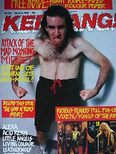 KERRANG 229 - ANTHRAX/LITTLE ANGELS/GUNS N' ROSES/ALEXA/LEATHERWOLF/KISS