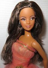 DRESSED DOLL ~ BRUNETTE FASHION FEVER MAKE-UP AA MACKIE BARBIE FOR OOAK DIORAMA
