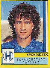 N°150 IRAKLIS THESSALONIKI GREECE PANINI GREEK LEAGUE FOOT 95 STICKER 1995