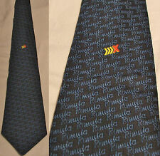 Vintage Blue Pattern - Featuring Shell Rimula X - Gents Neck Tie