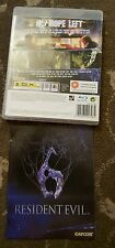 RESIDENT EVIL 6 PLAYSTATION 3 PS3
