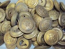 Chinese Navy Brass Uniform Buttons x 70