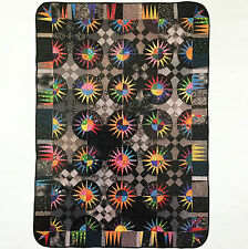 TRIP TO NEW YORK VINTAGE QUILT PATTERN PAPER FOUNDATION PIECED BEAUTY